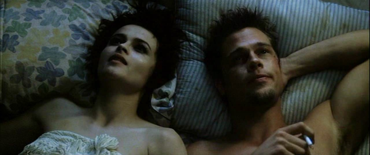 fight club helena bonham carter brad pitt