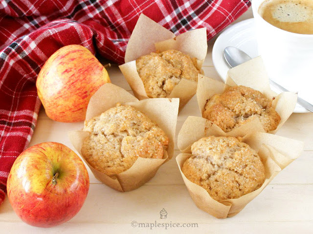 Vegan Apple Spice Muffins