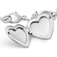 Sterling Silver Bracelet Sweetheart Locket3