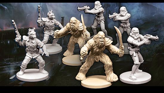Soldados, Wookies y Rodianos: llega la wave 3