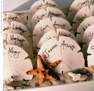 Great ideas for the busy little bride beach themed wedding