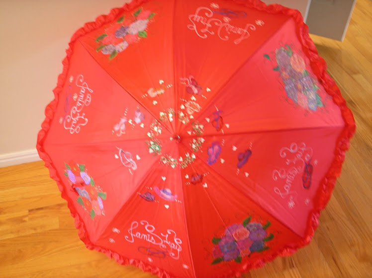 red hat parasol