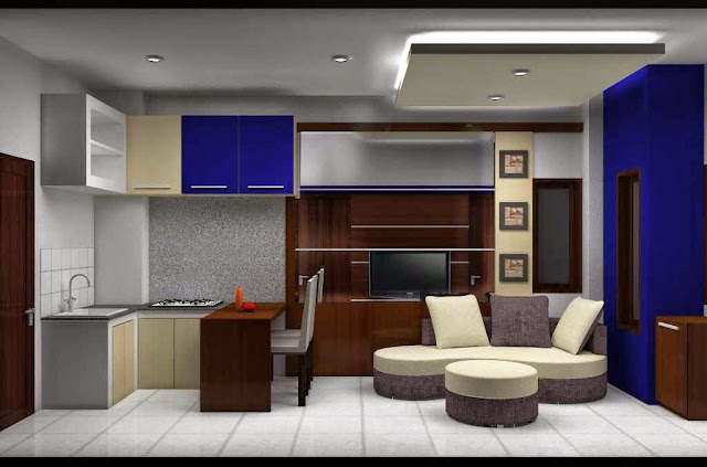 Gambar interior apartemen mungil
