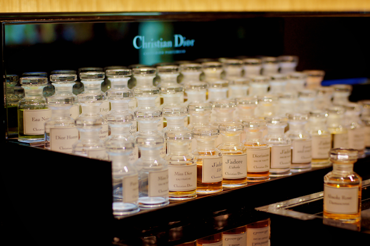Dior J'adore bottles perfumes