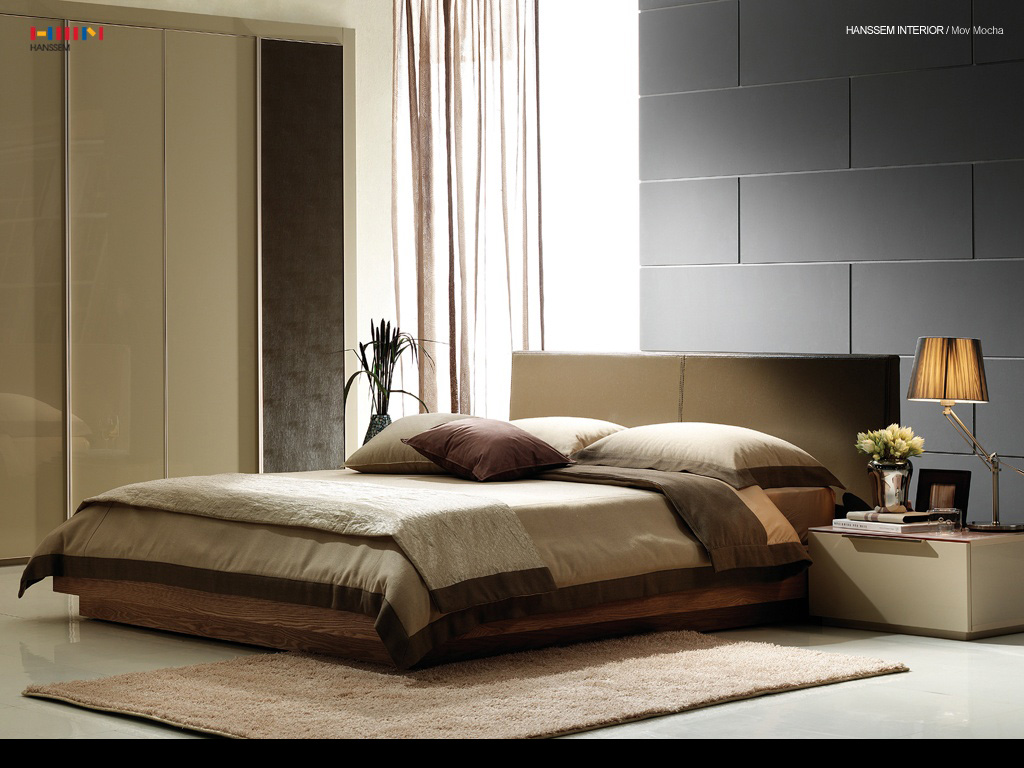 Interior design ideas fantastic modern bedroom paints for Modern bed designs