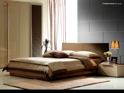 Modern Warm bedroom paint colors idea