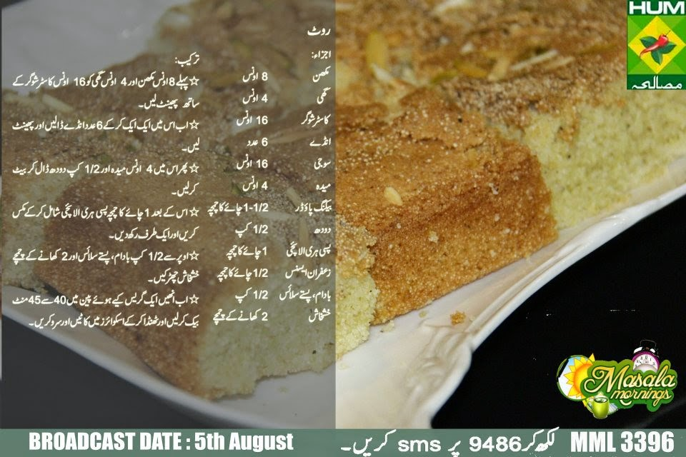 Pan Cake Recipe By Shireen Anwar