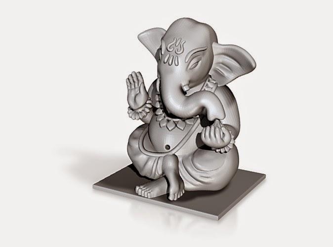 3D Printed Ganesha