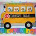 Letrero Bienvenidos: Transporte Escolar