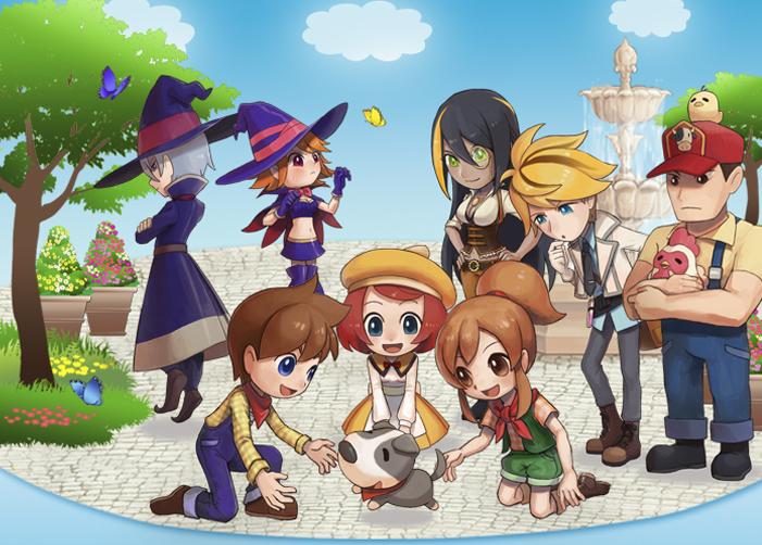 Preview Game Harvest Moon Seeds of Memories | Blog Pecinta Game dan Teknologi Informasi