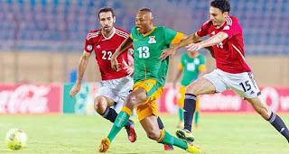 المنتخب الوطني الأول لكرة القدم يفوز علي نظيره الزامبي اليوم الخميس 14/11/2013