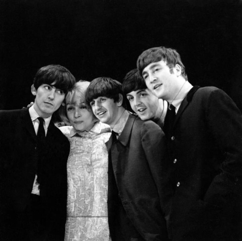 Marlene Dietrich con The Beatles