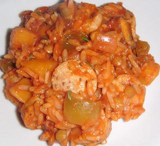 Vegetarian Jambalaya