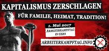 1. Mai 2017 - Arbeiterkampftag in Gera
