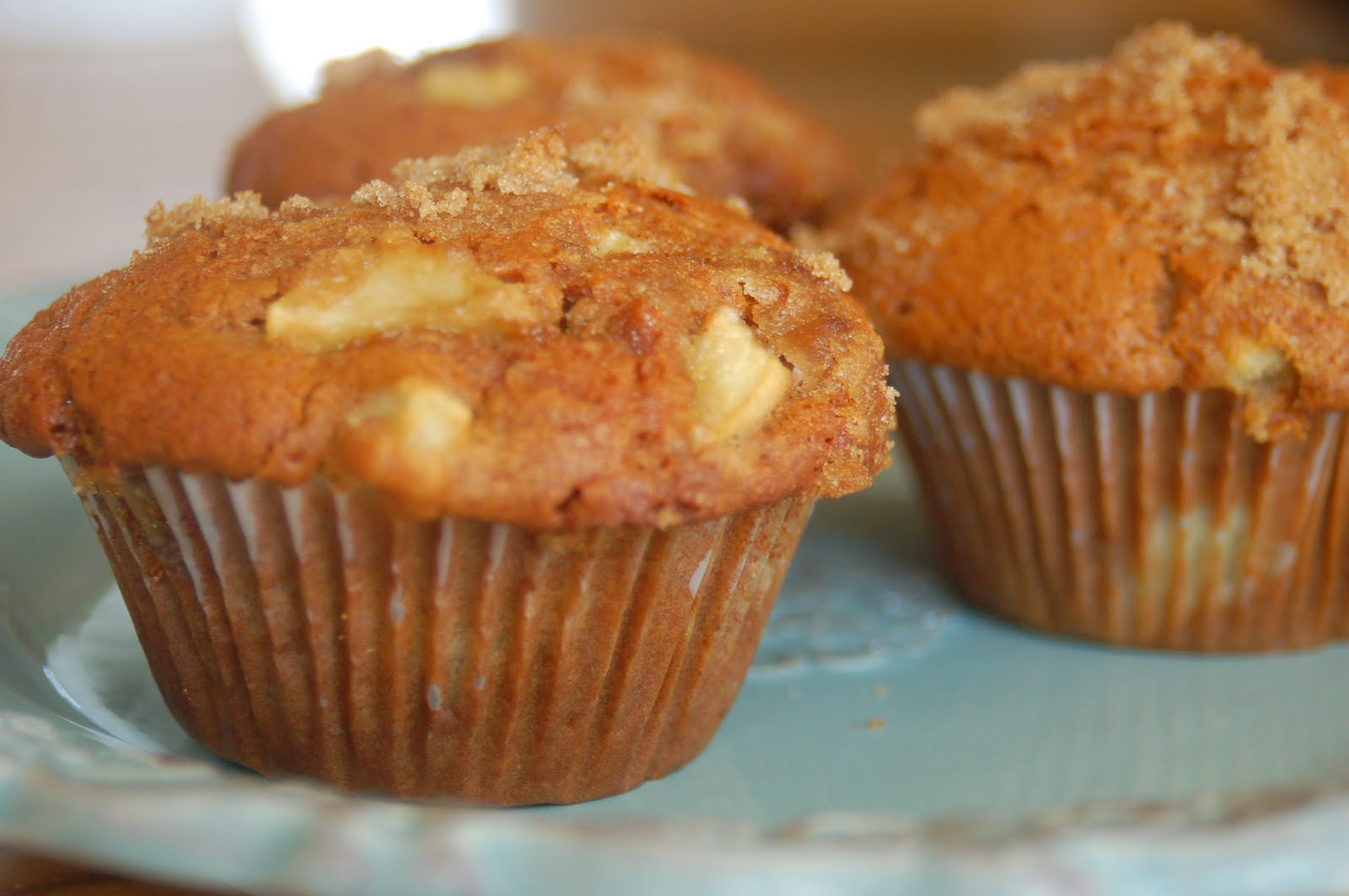 Fairview Farm: Whole Wheat Apple Muffins