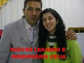 PASTOR LEANDRO E ESPOSA MISS. CÉLIA