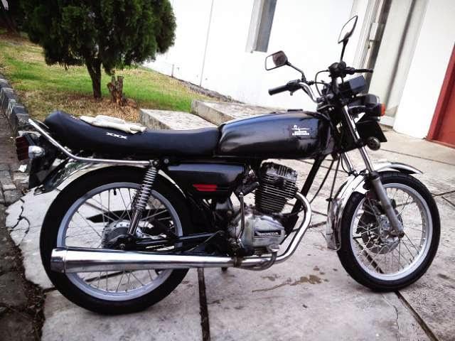 Modifikasi Motor Honda GL 100 Minimalis