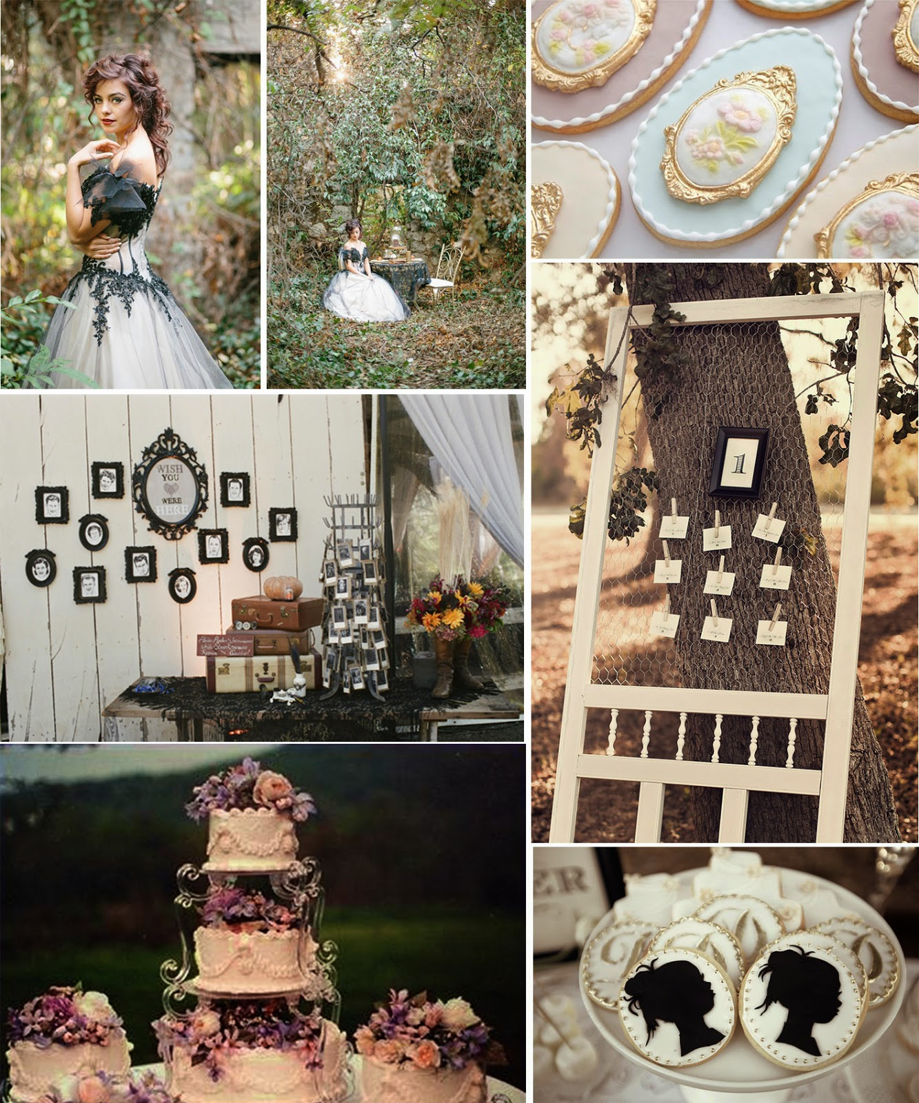 Wedding InspirationVictorian Vintage Theme