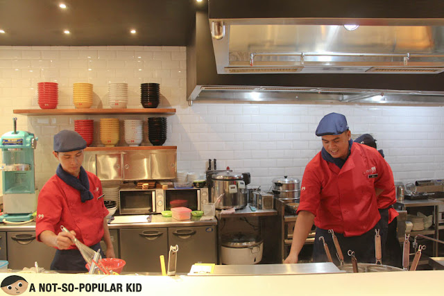 Chefs at Tsukumo Ramen Philippines