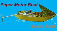 Paper Motor Boat