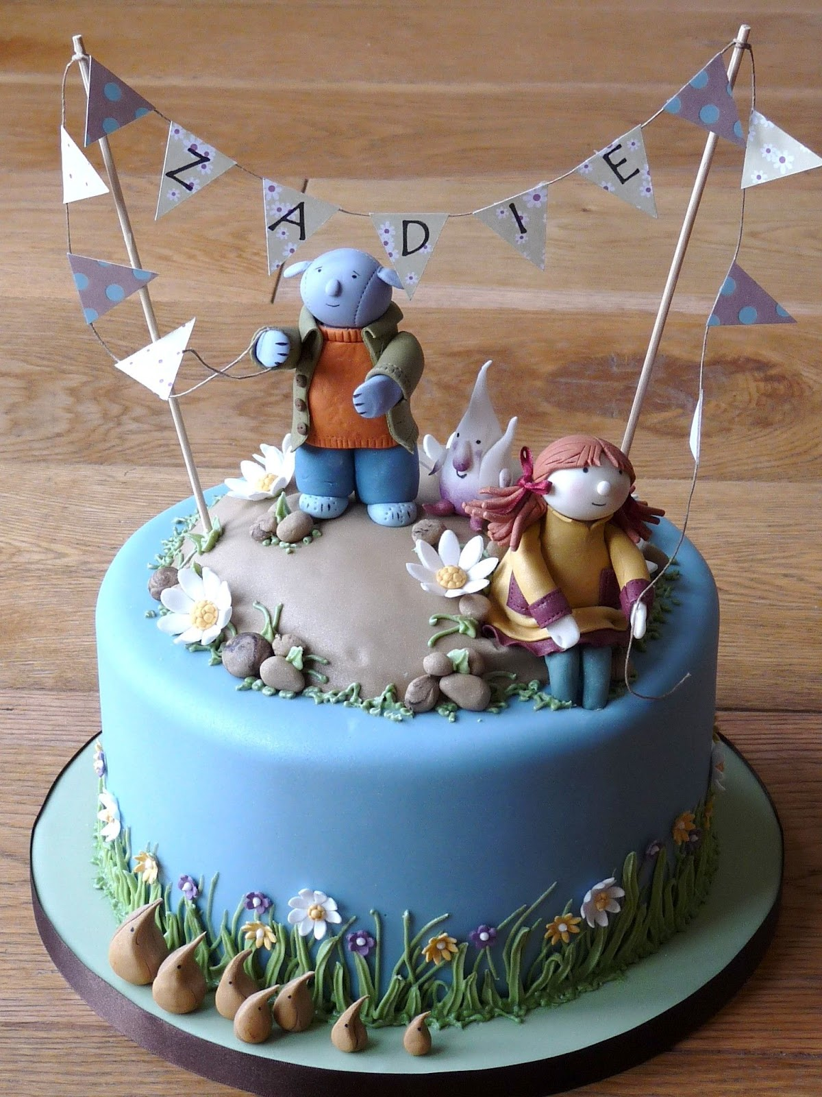 Rachelle S The Story Of Abney And Teal In Cake