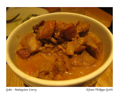 Image of Malaysian Curry at Gobo Vegetarian restaurant in NYC, New York