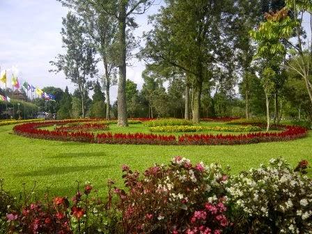 Taman salabintana : taman bermain yang indah di sukabumi