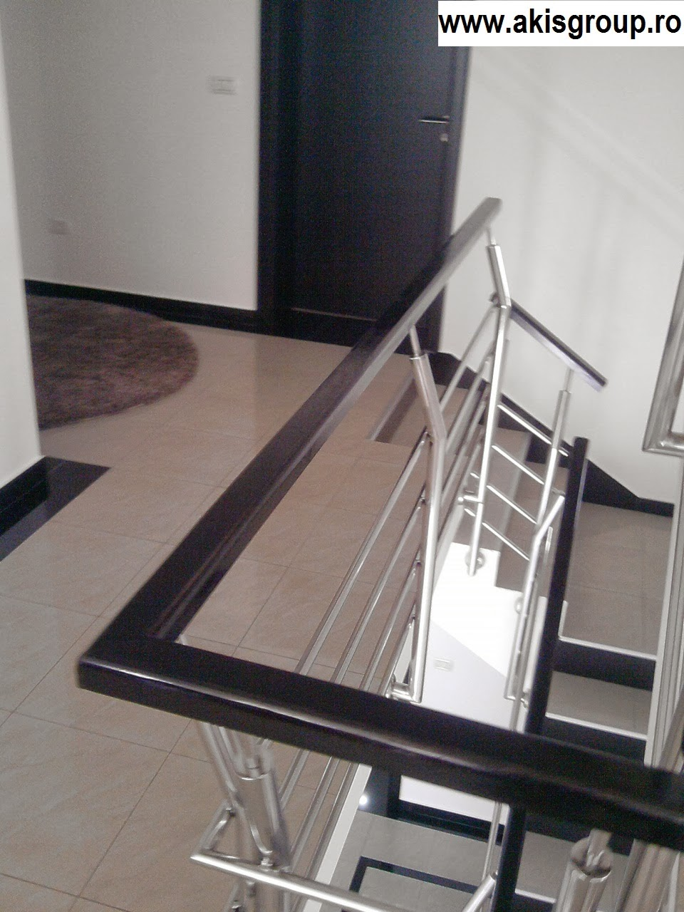 gel nder aus schmiedeeisen gel nder innen. Black Bedroom Furniture Sets. Home Design Ideas