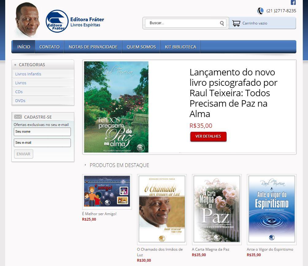 Editora Fráter - Livros espíritas