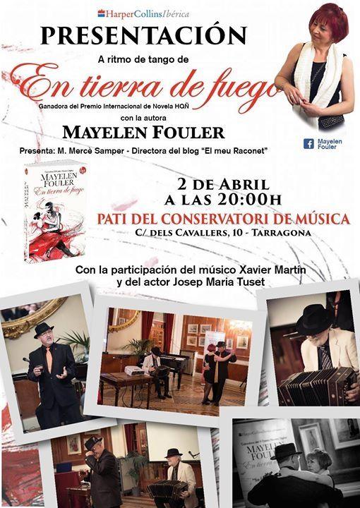 """Presento """"En tierra de fuego"""" de Mayelen Fouler :D"""