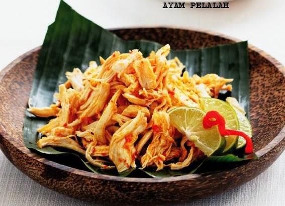 ayam pelalah khas Bali