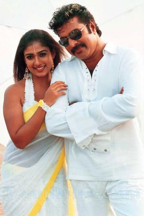 Mammootty with Nayanthara