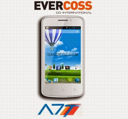 New Evercoss A7T Android Dual Sim Spesifikasi Dan Harga Terbaru