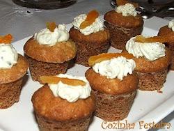 Mini-murffin salgado de gorgonzola!
