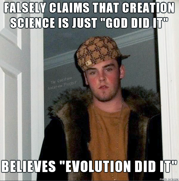 Doing a research paper how evolution makes more sense than creationism?