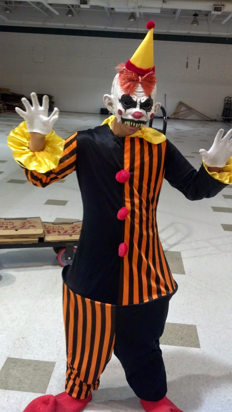 My version of Halloween...for people who hate clowns!!