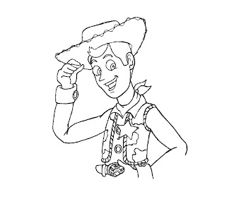 #2 Toy Story Coloring Page