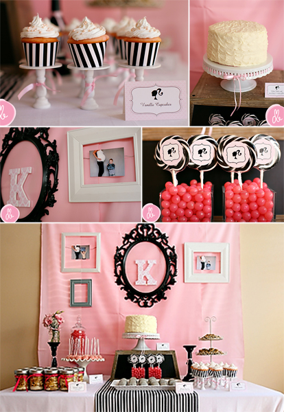 drew 39 s vintage barbie baby shower