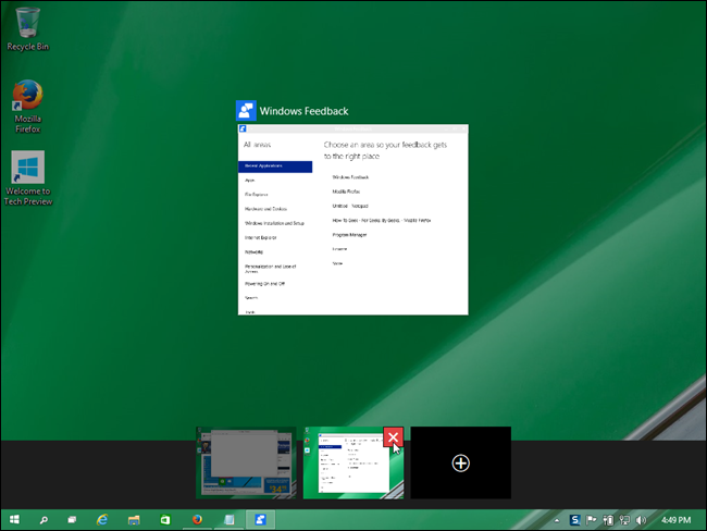 Using Virtual Desktops In Windows 10 9