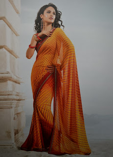 New Georgette Sarees