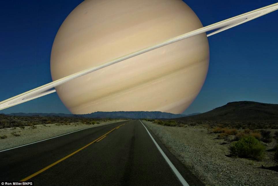 MENAKJUBKAN – 7 Foto Ketika 7 Planet Lain Mendekati Bumi ...