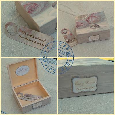 pudełko na ślub