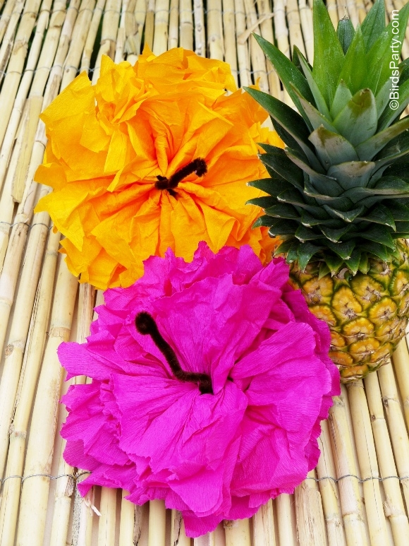 Bird's Party Blog: Hawaiian Tiki Luau Party: DIY Party Ideas + ...