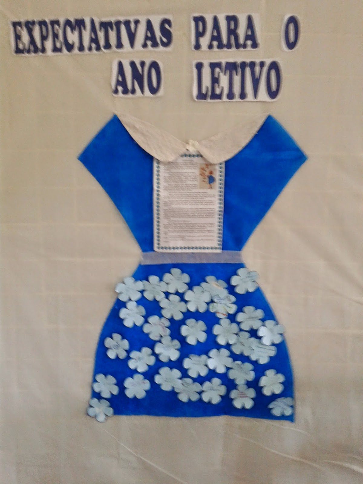 Dinâmica com o texto: O vestido azul