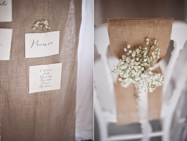 Idee DIY per un matrimonio in stile shabby chic