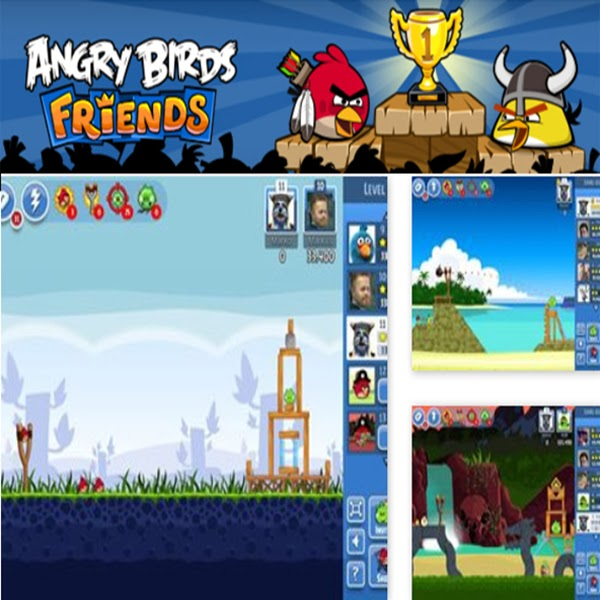 Angry Bird Friends Facebook