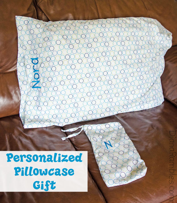 Personalized Embroidery Pillowcase Gift