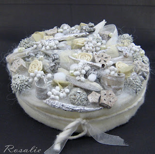 bloemstuk whitewash taart