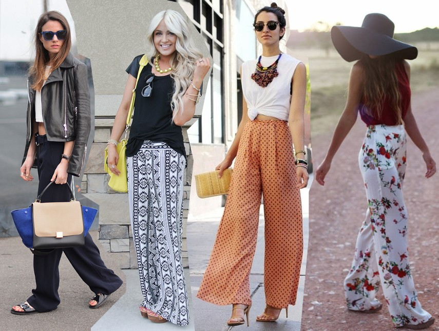 palazzo pant long wide legged trousers trend 2014 outfits fashion blog bloggers street style streetstyle
