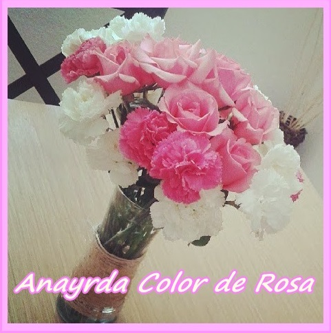 Anayrda color de rosa